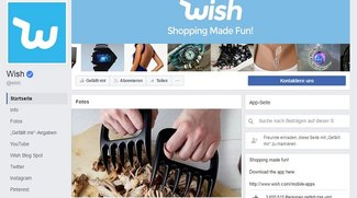 Wish: Kontakt zum Kundenservice per Telefon-Hotline