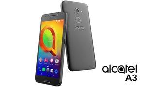 Alcatel A3 vorgestellt: Einsteiger-Handy mit Einsteiger-Spezifikationen für Einsteiger