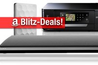 Blitzangebote: Mobile Festplatte, 65 Zoll 4K-TV, AirPrint-Drucker, Sony Soundbar zum Bestpreis