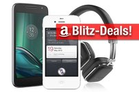 Blitzangebote:<b> Moto G4 Play, iPhone 4S, Harman Kardon Soho Wireless, Anker mit 45% Rabatt</b></b>