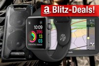 Blitzdeals & CyberSale:<b> Apple Watch in Space Grau, Sony Boombox, TomTom Via 52 zum Bestpreis</b></b>