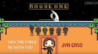Star Wars: Rogue One als liebevolles 8-Bit-Spiel