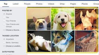 Die Facebook-Suche erkennt ab sofort sogar den Inhalt deiner Fotos