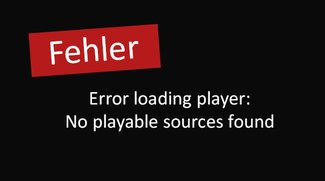 Lösung: Error loading player no playable sources found (Fehlermeldung)