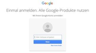 Google-Konto: Zahlreiche Nutzer über Nacht ausgeloggt