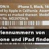 iPad- und iPhone-Seriennummern finden