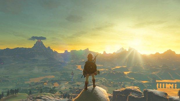 Zelda - Breath of the Wild: Sterbender durfte es vor allen anderen spielen