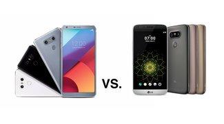 LG G6 vs. G5: Keine Chance für den Vorgänger