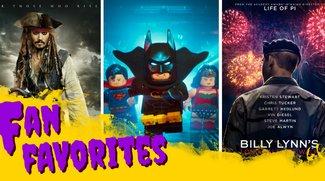 Film-Podcast: Fluch der Karibik 5,  Lego Batman & alle Superbowl-Trailer - Fan Favorites 5.6