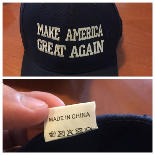 Made in PRC - Make China great again!