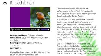 Vogellexikon Windows 10