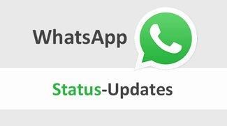 WhatsApp: Status verschicken & Update-Meldungen deaktivieren – so geht's