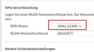 WPA2 CCMP: Ist das besser als WPA+WPA2 und WEP? Einfach erklärt