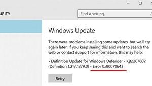 Lösung: 0x80070643 – Windows-Fehler bei Update wegen KB4023057