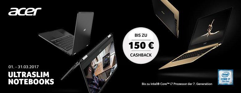Acer-Cashback-Aktion