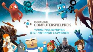 Deutscher Computerspielpreis: Stimme jetzt für den Publikumspreis ab