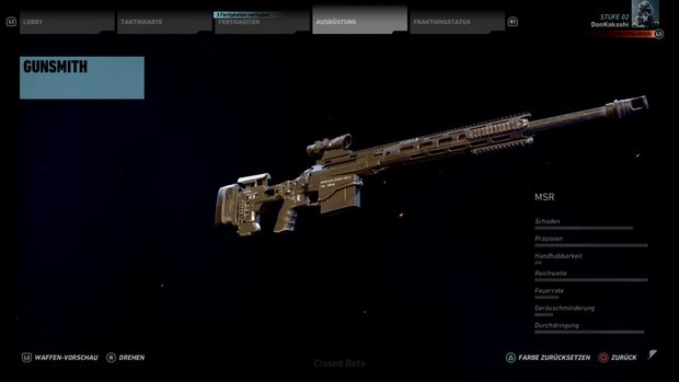 Ghost Recon Wildlands: Bestes Scharfschützengewehr MSR früh bekommen