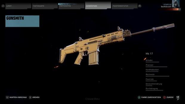 Ghost Recon Wildlands: Mk 17 - bestes Sturmgewehr bekommen