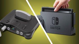 Dieser N64 wurde in eine Nintendo-Switch-Docking-Station umgebaut