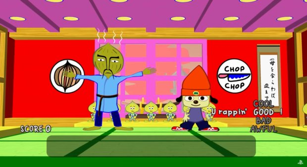 PaRappa the Rapper: PlayStation-Klassiker kommt für PS4