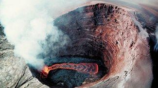 Du kannst jetzt mit Google Street View in einen Vulkan klettern
