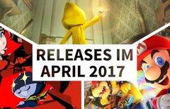Release-Liste für April 2017:...