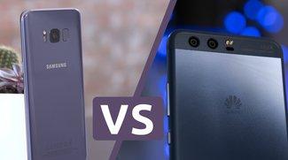 Samsung Galaxy S8 (Plus) vs. Huawei P10 (Plus): Konfrontation der Erzrivalen