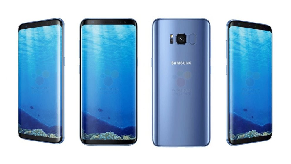 samsung galaxy s8 plus blaue version neues. Black Bedroom Furniture Sets. Home Design Ideas