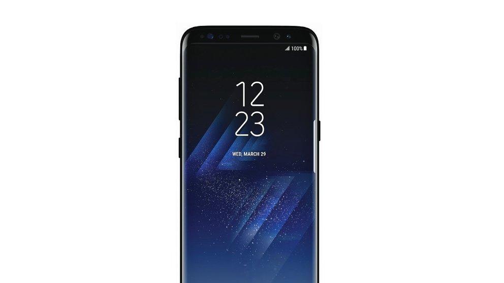 Samsung Galaxy S8 mit Superzeitlupe, Autofokus-Frontkamera und Zahlen per Gesichtserkennung