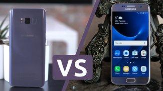 Samsung Galaxy S8 vs. Galaxy S7 im Video-Vergleich: Was für einen Unterschied ein Jahr macht