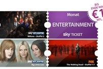 Sky Entertainment oder Cinema Ticket für 1 € im 1. Monat – monatlich kündbar</b>