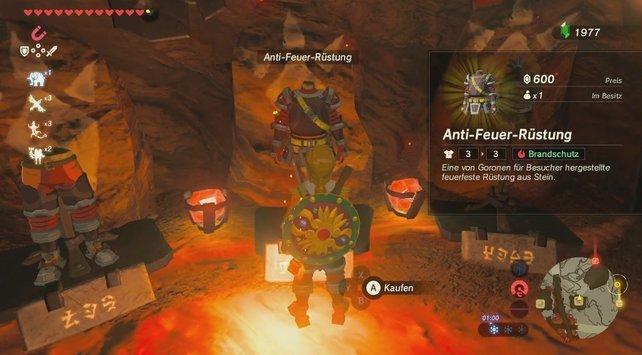 Zelda alle Rüstungen, kleidung
