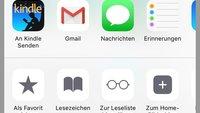 "Kindle-iOS-App mit neuer ""an Kindle senden""-Funktion für Safari"