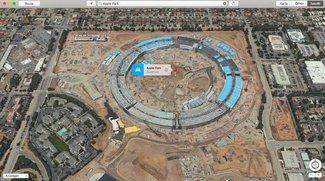 Apple Park jetzt in der Karten-App –und im neuen Drohnenvideo