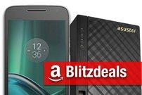 Blitzangebote: Moto G4 Play, Speichererweiterung fürs iPhone, NAS mit HDMI-Anschluss zum Bestpreis