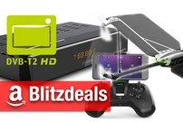 Blitzangebote:<b> DVB-T2 Receiver, Antennen und TVs + Parrot-Drohnen, Asus Smartwatch günstiger</b></b>