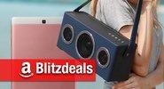 Blitzangebote: Mobiler AirPlay-Lautsprecher, Digital-Radio, FHD-Tablet, 65 Zoll 4K-TV günstiger