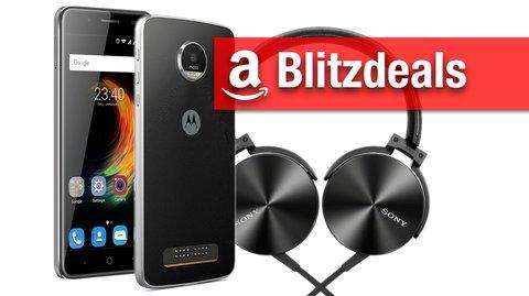 Blitzangebote: Lenovo Moto Z Play,  ZTE Blade A610 Plus, Sony Headset, LG TV zum Bestpreis