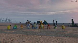 GTA 5: Mit der Pokémon Go-Mod auf die Jagd gehen