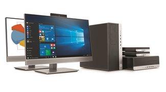 HP EliteDesk und EliteOne 800 G3: Desktop- und All-in-One-PCs vorgestellt