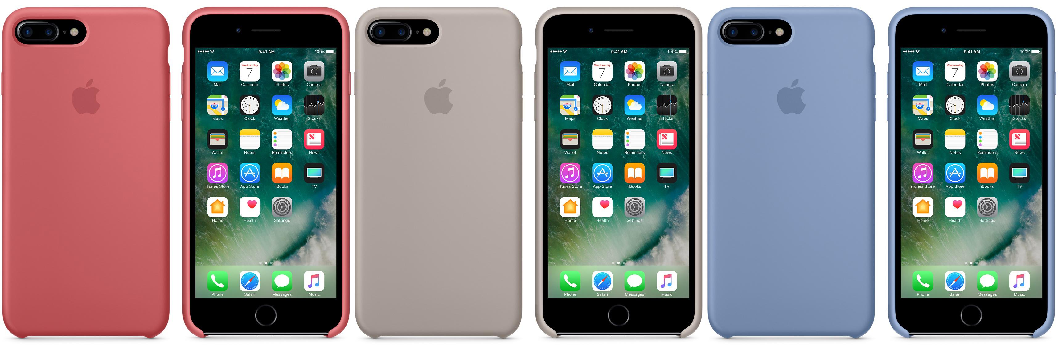 apple pr sentiert neue h llen f r iphone 7 und iphone se giga. Black Bedroom Furniture Sets. Home Design Ideas