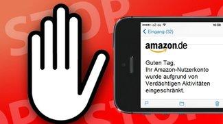 Amazon-Abzocke: Gefälschte E-Mails sorgen für Verwirrung