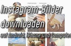 Instagram-Bilder downloaden...