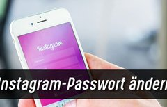 Instagram-Passwort ändern –...