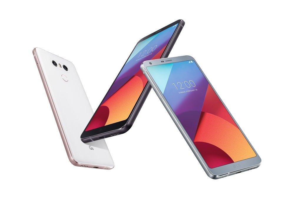 Das LG G6: Ein Smartphone — unterschiedliche Innenleben