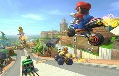 Mario Kart mit einem PKW als...