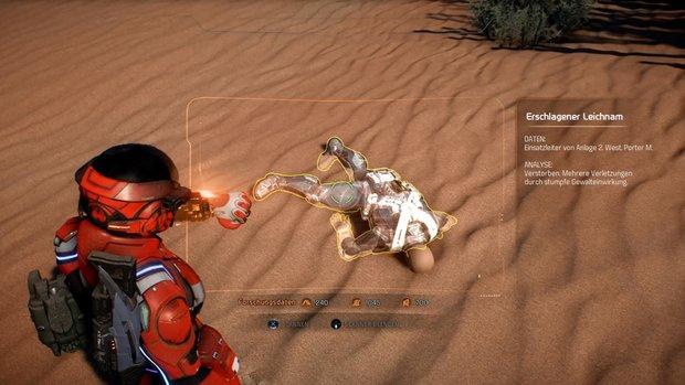 Mass Effect - Andromeda: Benennung der Toten - Fundorte der Leichen auf der Karte