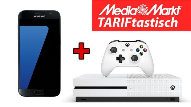 TARIFtastisch:<b> Samsung Galaxy S7 + Xbox One S + Allnet-Flat & 1 GB im Vodafone-Netz für 641 €</b></b>
