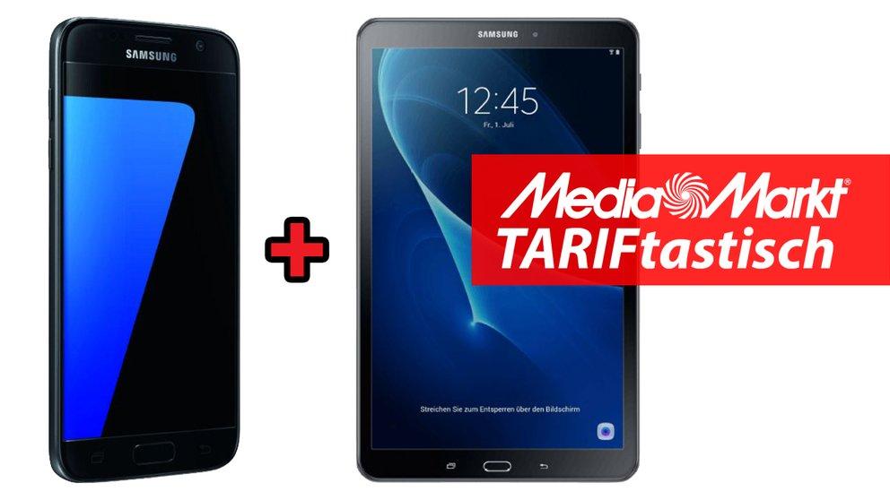TARIFtastisch: Samsung Galaxy S7 + Galaxy Tab A 10.1 + Allnet-Flat & 1 GB im Vodafone-Netz