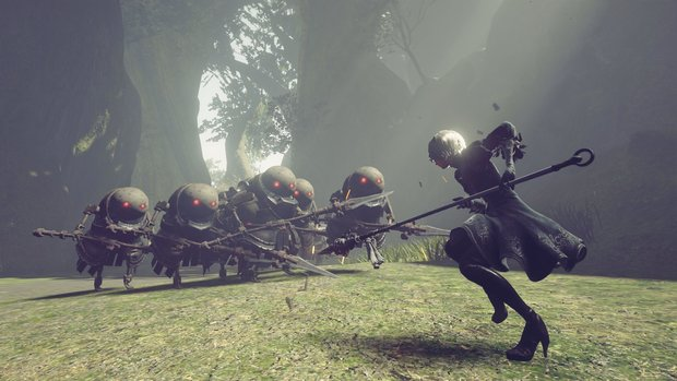 NieR - Automata: Fan-Patch soll Performance-Wunder bewirken